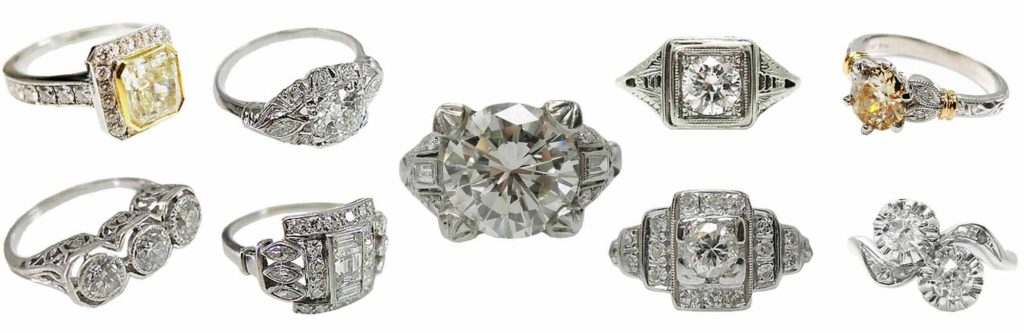 Vintage-Antique-Estate-and-Art-Deco-Daimond-Engagement-Rings-Banner-161117-gg